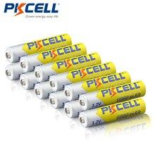 12 قطعة/الوحدة PKCELL NIMH بطارية AAA 1000 مللي أمبير 1.2 فولت ni mh بطارية قابلة للشحن 3A بطاريات Baterias للكاميرا مضيا اللعب