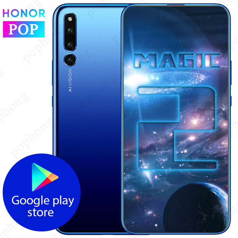 Nowy HONOR Magic 2 SmartPhone 8GB 128GB 6.39 cal Kirin 980 Android 9.0 full hd 2340X1080 NFC supercharge w Telefony Komórkowe od Telefony komórkowe i telekomunikacja na AliExpress - 11.11_Double 11Singles' Day 1