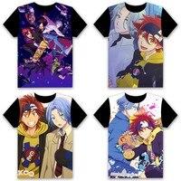 Anime SK EIGHT SK8 the Infinity REKI SNOW MIYA JOE Men s T shirt Cosplay