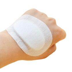 5pcs Band-Aids Waterproof Breathable Cushion Adhesive Plaster Wound Hemostasis Sticker Band First Aid Bandage Emergency Kit