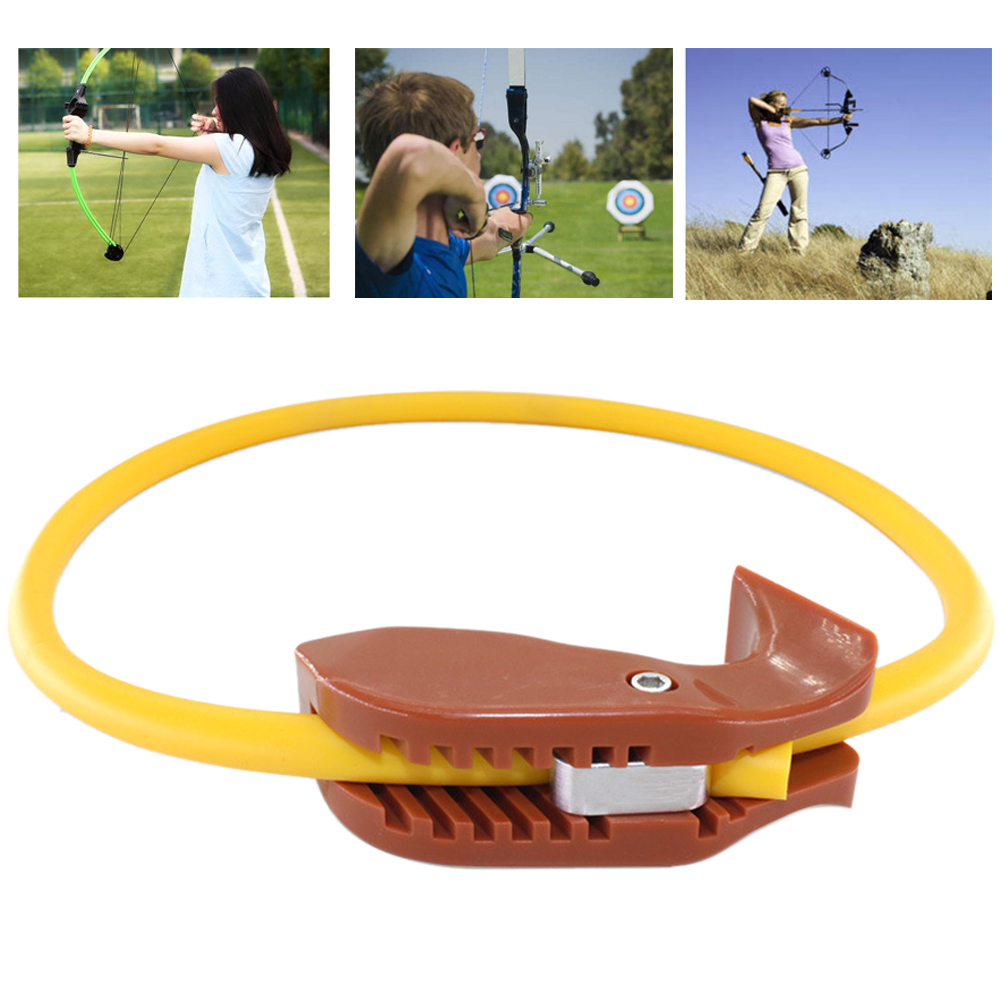 Practice Durable Outdoor Pull Sports Arm Strength Exercise Shooting Tool Posture Improve Power Archery Trainer Round Beginner