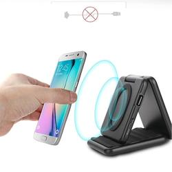 Power bank wireless mobile phone charger 5000mAh portable folding charging bracket wireless charging external power supply
