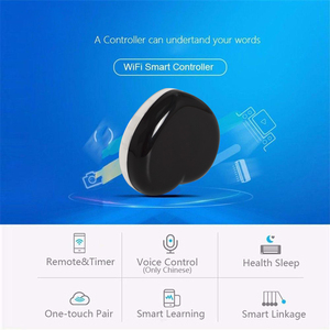 Image 5 - Tuya Smart Life IR Remote Control WiFi IR 2.4Ghz Infrared Illuminated Heart Timing Voice Control Compatible with Alexa Google As