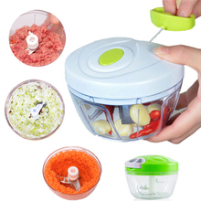 Slicer Cutter Chopper Shredder Meat-Grinder Hand-Rope Kitchen-Tool Garlic Food-Processor