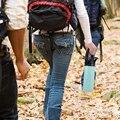Соломенная Крышка для гидро фляжки с широким горлом бутылка для воды с ручкой с защитным кольцом и карабином совместима с большинством брен...
