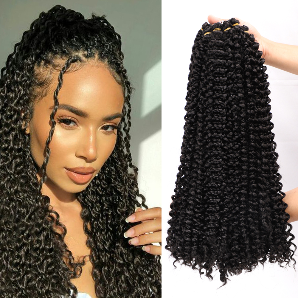 Passion Twist Crochet Hair Afro Kinky Curly 14