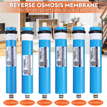 Домашняя кухня обратного осмоса RO мембрана замена фильтр для воды системы бытовой очистки воды фильтрации 50/75/100/125GPD