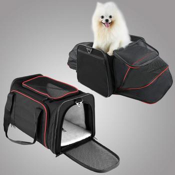Cat Carrier Outgoing Travel Bag Dog Carrier Portable Pet Backpack Messenger Breathable Pet Carrier Pet Handbag Yorkie Chihuahua