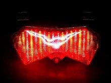 ZX 6R Motorcycle Brake Tail Light Turn Signal TailLight For Kawasaki Ninja ZX6R / ZX6RR /ZX6R 636 2003 2004 Z1000 Z750S