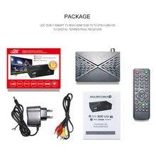 DVB C двухъядерный wifi PVR функция ABS USB порт Смарт Цифровой HD ТВ приемник 1080P наземный сигнал ТВ коробка Домашний HDMI чувствительный