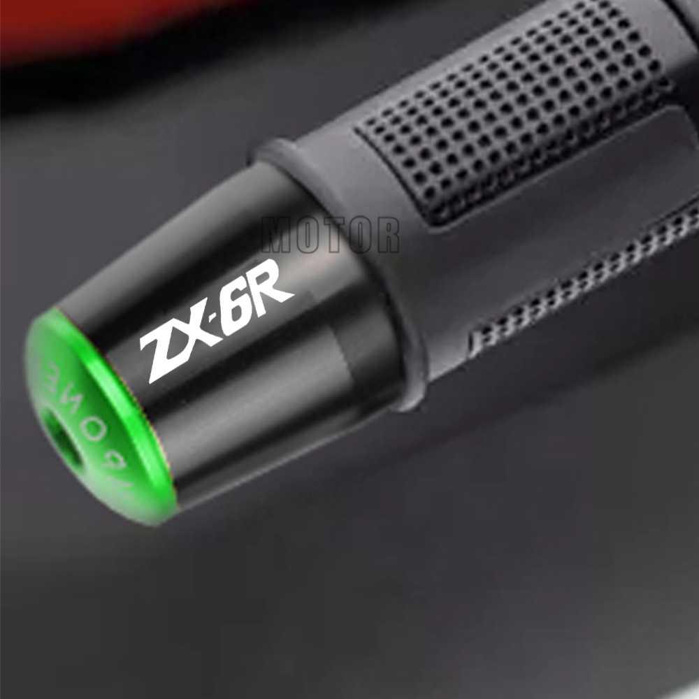 가와사키 ZX6R 오토바이 핸들 바 끝단 바 끝 ZX-6R 2001 2002 2003 2004 2005 2006 2007 2008 2009