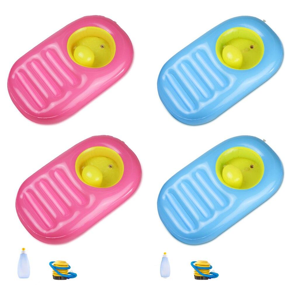 Verão portátil inflável bebê dobrável cor banheira