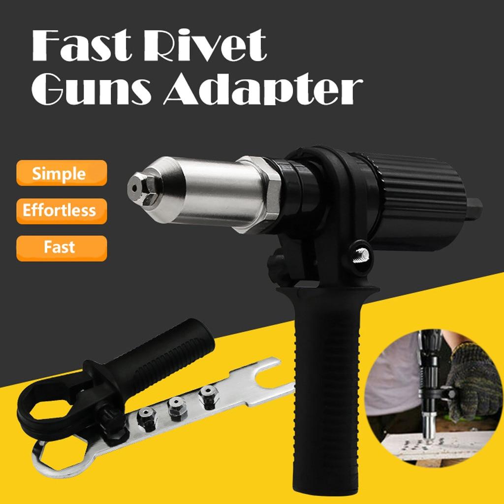 Adapter Rivet Electric-Nut Guns Power-Drill-Tool-Kit Effortless Gon Professional Fast