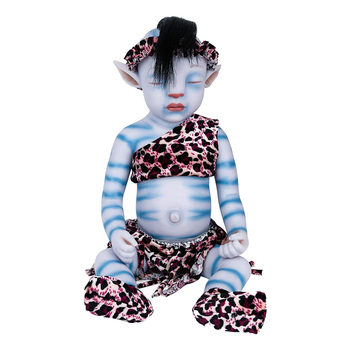 IVITA WG1806RH 51cm 2900g full Silicone reborn dolls Lifelike girl baby juguetes eyes Closed sleeping Film Toys for Children ivita 100