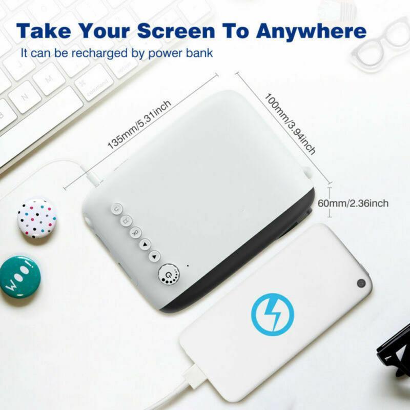 2020 mini 1080p led mini projetor para o telefone celular de cinema em casa smartphone completo hd projetores mini projetor para o dia das bruxas móvel-3