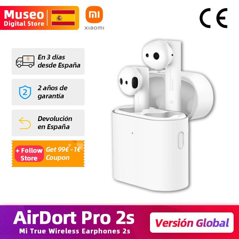 Xiaomi Airdots Pro 2S Mi con TWS Auriculares y audífonos  - AliExpress