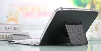 "10 pulgadas teclado inalámbrico Bluetooth para DEXP Ursus A210 A210i A310 3G 10,1 ""magnético PU funda vertical de cuero + Pen"