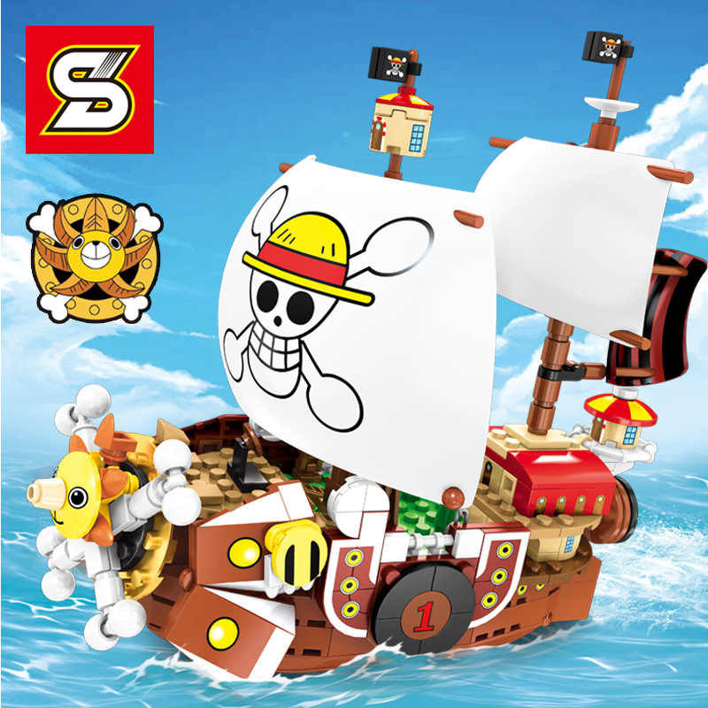 Thousand Sunny One Piece Monkey D Luffy Zoro Nami Sanji
