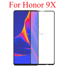 3D Full Glue Tempered Glass For Huawei honor 9X Full Cover Safety 9H Protective film Screen