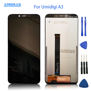 Image 1 - AICSRAD 100% Tested lcd For umidigi A3 / A3 PRO Lcd Screen Display +Touch Panel Digitizer Glass a 3 pro a3pro +Tools