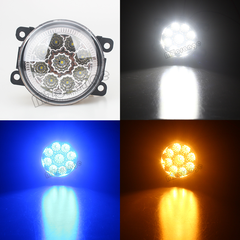 Car Styling Fog Lamp For <font><b>Renault</b></font> <font><b>Duster</b></font> Megane Fluence 2003-2015 Car Styling <font><b>Led</b></font> Fog Lights High Brightness Fog Lamps 1Set image