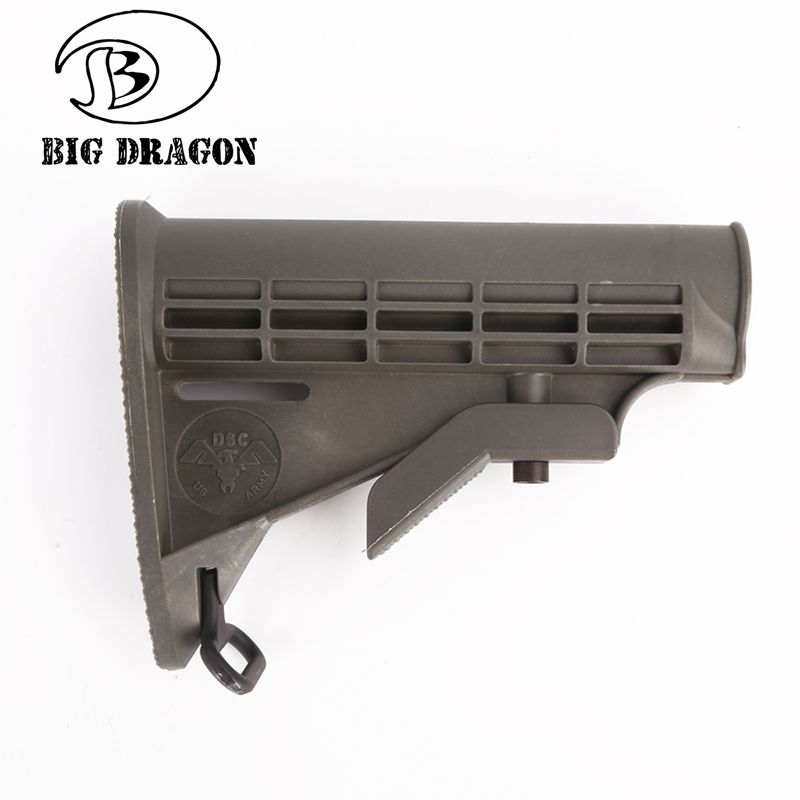 Emerson High Quality Nylon Stock Land Army 6 Section Toy Airsoft Refile Rifle Hunting Accessory For AEG in Hunting Gun Accessories from Sports Entertainment