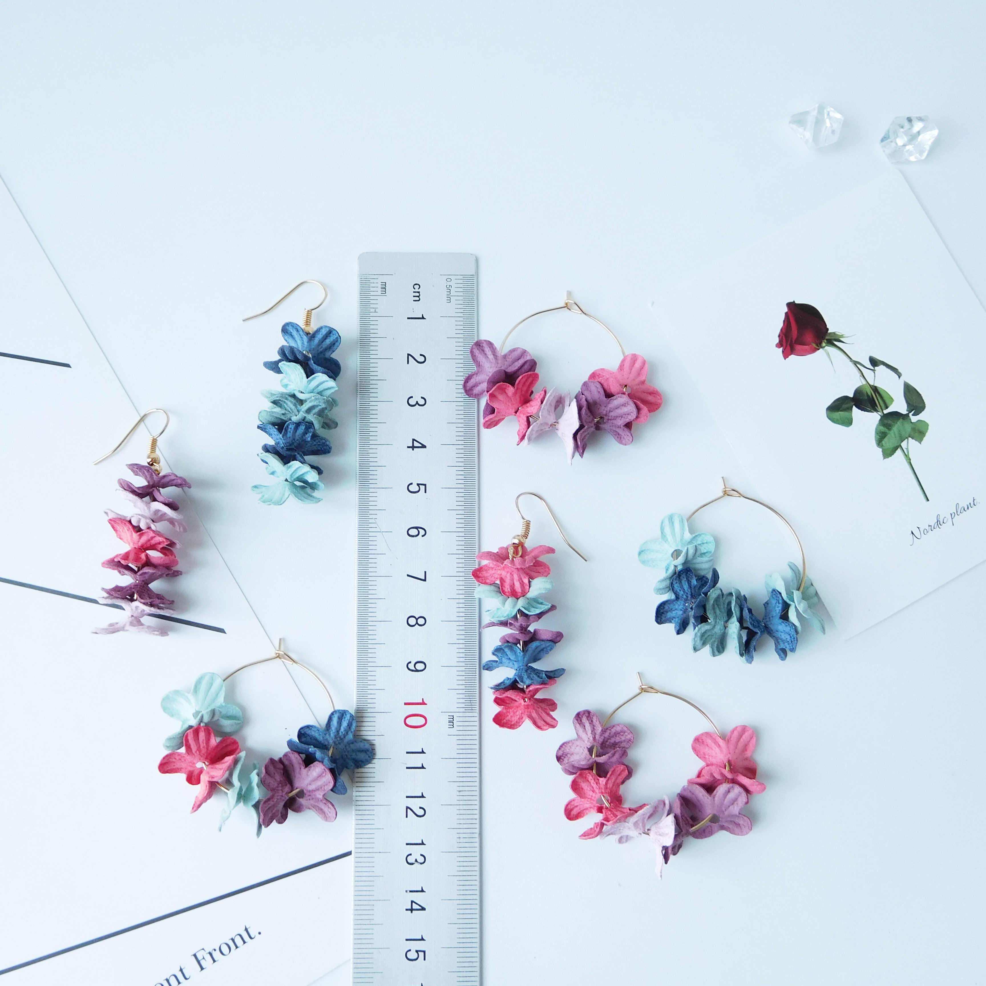 HC 17 Designs coréen pas cher Simple Vintage givré Style gland boucles d'oreilles vert fée goutte boucles d'oreilles pour les femmes accessoires de mode W