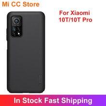 Nillkin-funda de teléfono para Xiaomi 10T/10T pro, cubierta deslizante para protección de cámara Mi10T PC, funda protectora para Mi 10T Pro 5G
