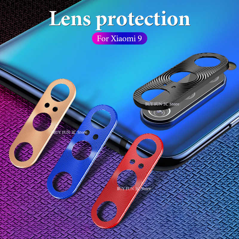 Camera Lens Protective Ring Case For Xiaomi Redmi Note 7 Pro Mi 9 8 SE 6x Camera Lens Protector on Redmi Note 7 Case Accessories