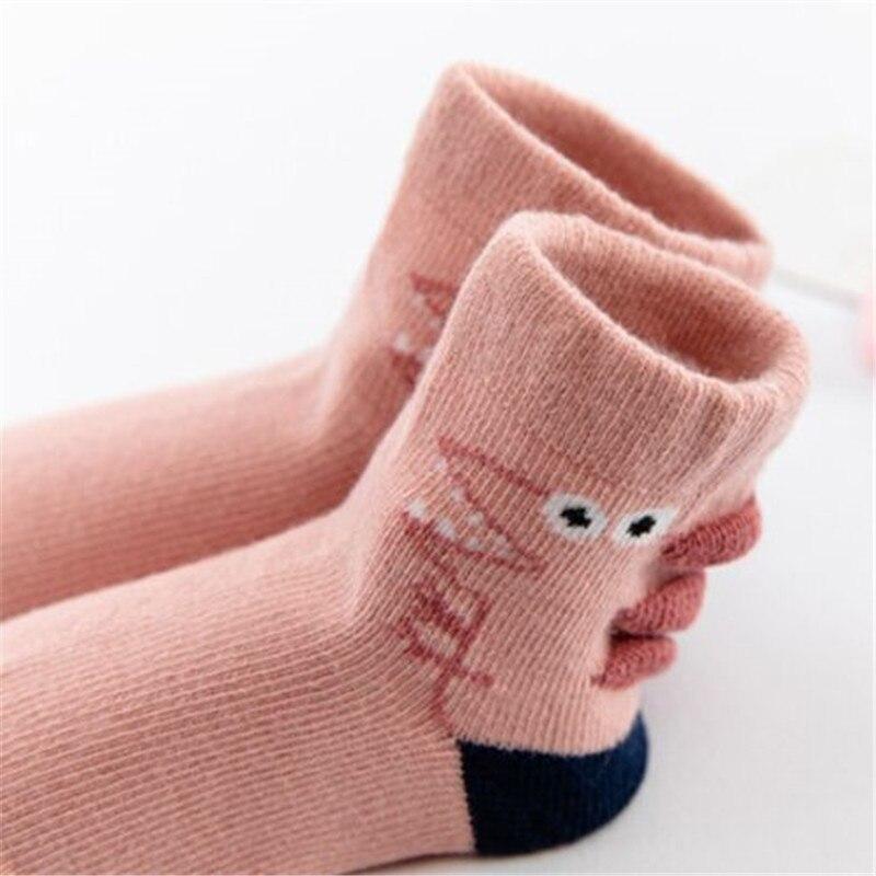 10Pairs/Lot Baby Boys Socks Spring Autumn Cotton Newborn Baby Girls Socks Fashion Casual Kids Socks for Children Age for 1-12Y 6