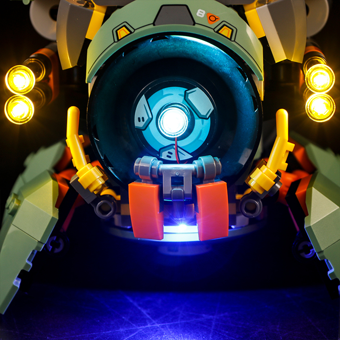 Vonado USB LED Lighting Kit For Overwatch Wrecking Ball 75976(LED Included Only, No Kit) Toy For Children Educational Toys Gift 1