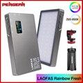 LAOFAS Rainbow Fresh RGB 2500K-8500K мини видео светодиодный светильник, портативный полноцветный светильник, заполняющий светильник для съемок камеры