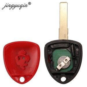 Image 4 - jingyuqin 3 Button Remote Smart Car Key 433MHZ ID48 Chip for Ferrari 458 Italia California 599 GTB Fiorano FF Complete Horse Fob