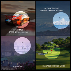 Image 4 - 600M / 900M lazer telemetre avcılık Golf lazer menzil ölçer lazer mesafe ölçer hız test cihazı dijital ölçüm monoküler