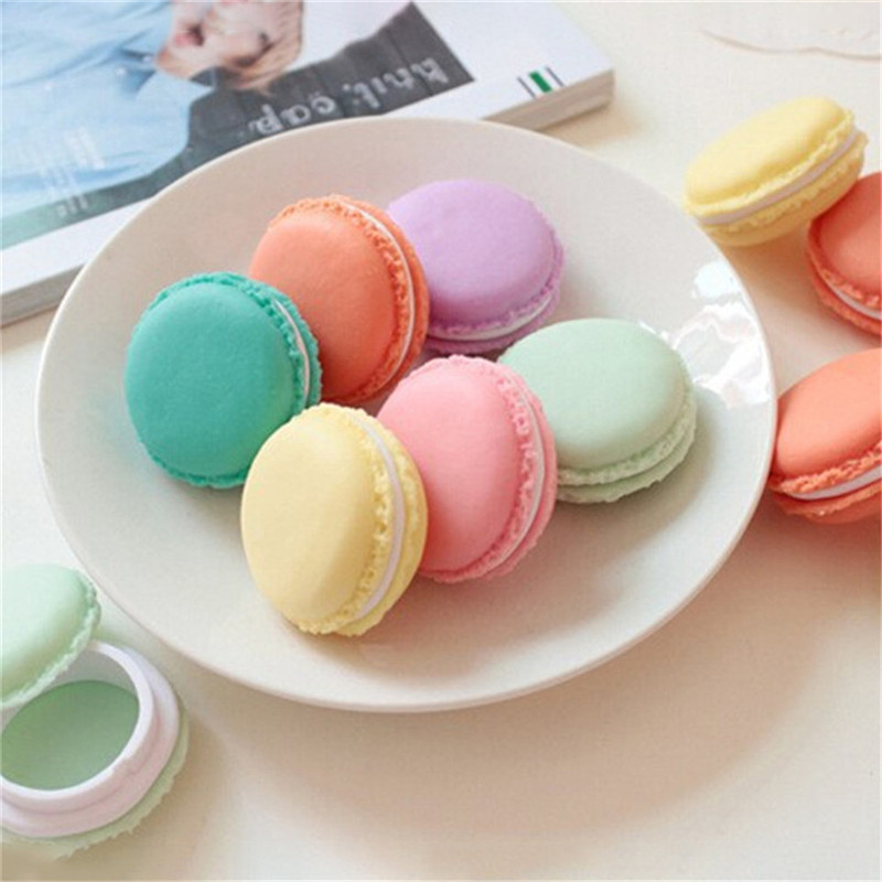 Vogvigo Candy Color Mini Cute Macarons Travel  Cosmetic Bag Makeup Case Box Organizer Toiletry Beauty Wash Kit Bath Bags New