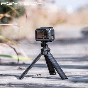 Image 2 - PGYTECH T2 elastyczny Tirpod do kamera sportowa Osmo kieszonkowy GoPro Insta360 kąt regulowany uchwyt statyw stojak