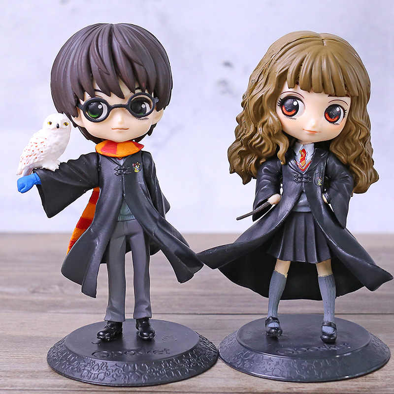 Q Posket Hermione Q Versão PVC Figura Collectible Toy Modelo