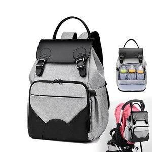 Image 1 - 2020 yeni su geçirmez bebek bezi çantası anne annelik Nappy sırt çantası bebek arabası bebek organizatör hemşirelik değişen çanta bakımı anne için