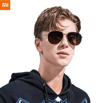 New Xiaomi Youpin ANDZ SUS304 Nylon Polarized Sunglasses Driver Pilot HD Vision Zero Sense To Wear Sunglasses Men Female