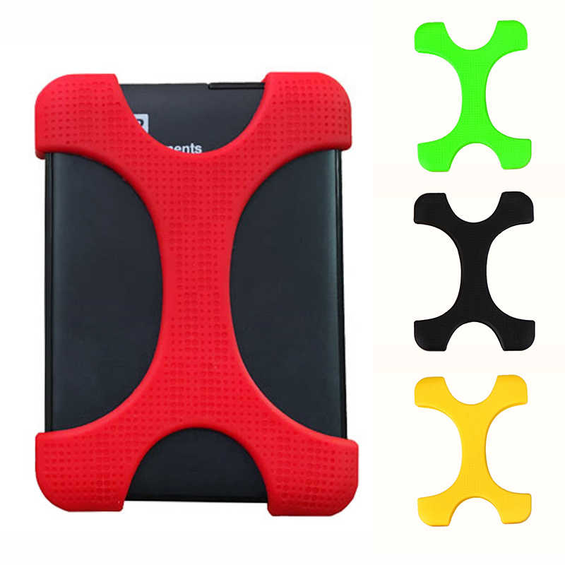 """6 Kleuren 2.5 """"Shockproof Hard Drive Disk Hdd Silicone Case Cover Protector Voor Seagate Backup Plus Externe Harde Schijf"""