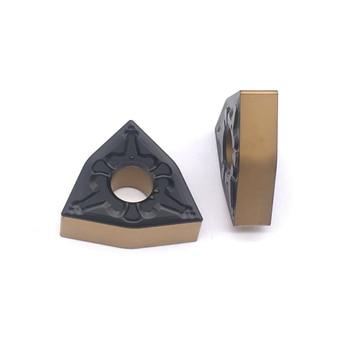 10 PCS WNMG080404 TM T4225 Carbide insert lathe tool metal lathe tool External turning tool Hard Alloy