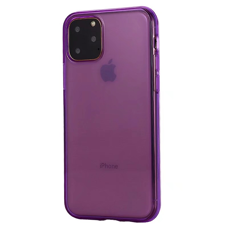 Comanke Transparent Candy Color Silicone Cases for iPhone 11/11 Pro/11 Pro Max 10