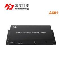 Huidu HD A601 HD A602 HD A603 supporto 3G 4G WiFi spendere pieno di colore dual mode huidu A601 A602 A603 con S108 box sensore
