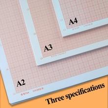 Standard Calculation/Graph/Logarithmic/Coordinate Paper A4/A3/A2 Grid Paper Plaid Drawing Paper Manuscript Drafting K-line Paper