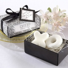 100 pieces XO Scented Soap Wedding Favors& Gifts for Guests Event& Party Supplies holiday gifts