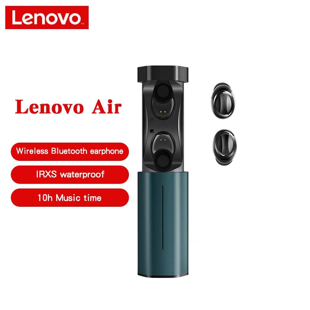 Lenovo sans fil écouteur Bluetooth 5.0 TWS Bluetooth écouteur IPX5 étanche véritable sans fil écouteurs avec Microphone nouveau