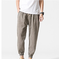 Casual Harem Pants Men Jogger Pants M-5XL Fitness Trousers Male Large Size Pants Harajuku Hip Hop Summer Trousers Mens Clothing
