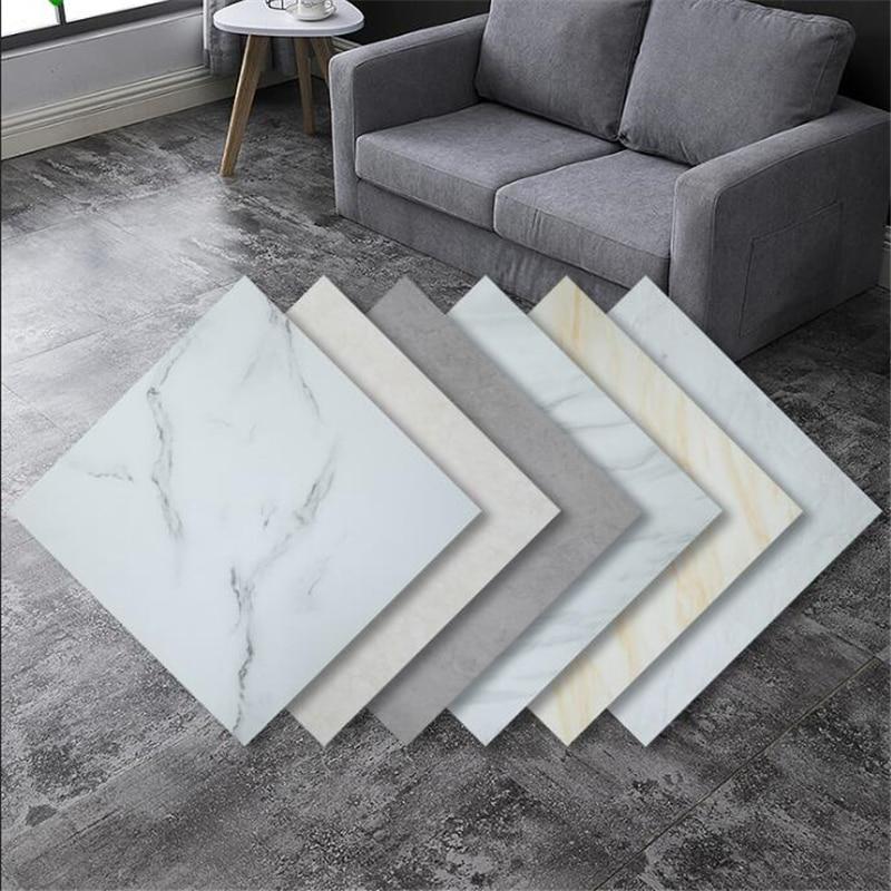 Beibehang PVC Floor Stickers Self-adhesive Plastic Floor Leather Thick Wear-resistant Anti-cement Floor Household Floor Tiles