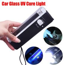 Multifunctional Auto Glass UV Cure Light Car Window Resin Cured Ultraviolet UV Lamp Lighting Windshield Repair Tools Wholesale