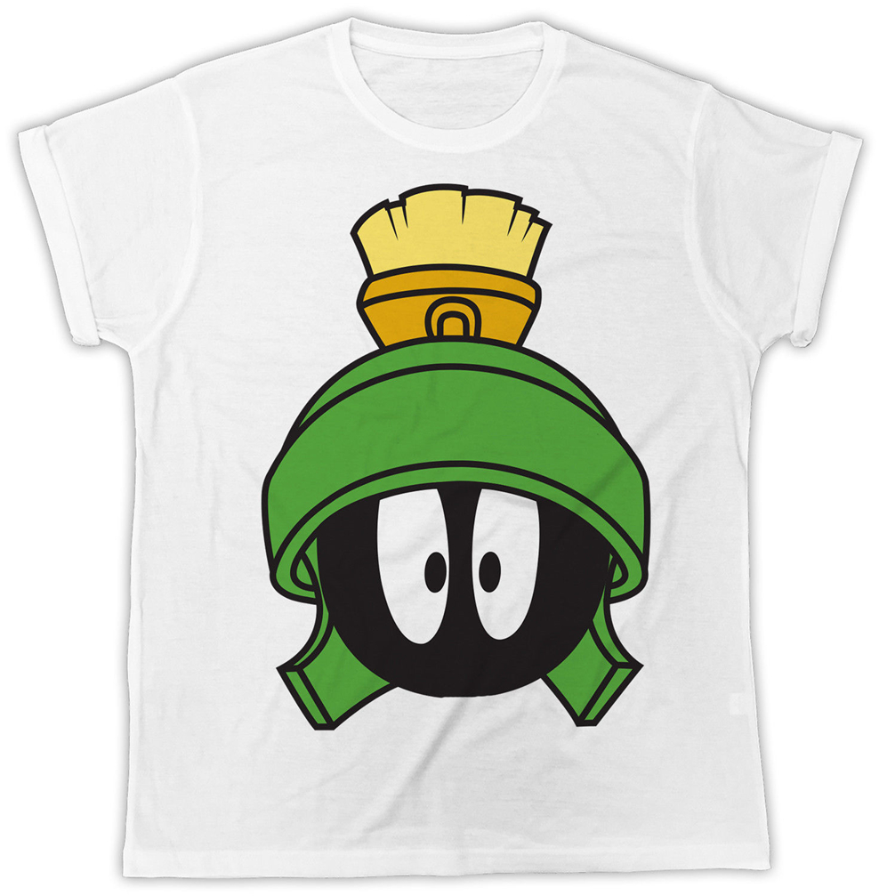 FUNNY MARVIN THE MARTIAN IDEAL GIFT BIRTHDAY PRESENT UNISEX BLACK MENS T SHIRT